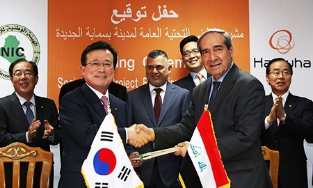 $2.12 billion construction project in Iraq won by Hanwha group