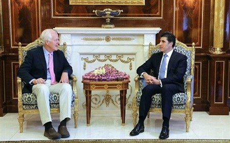 US senator urged for full cooperation between Baghdad and KRG on Mosul
