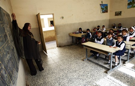 Iraqi strategy seeks to cultivate teacher strengths