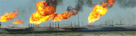Anti-flaring programs are fired up by Iraq