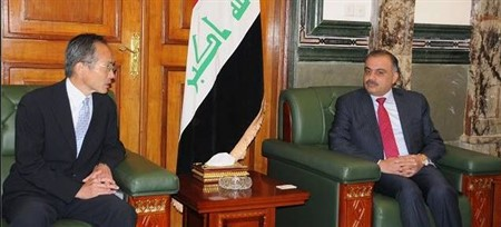 Common operations discussed between Iraqi Minister of Industry and Japanese Ambassador