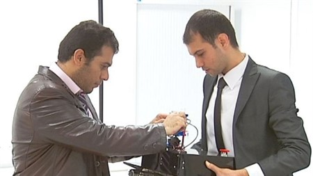 Two Iraqi students develop technology to detect human lives during rescue operations
